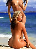 Sexy babes Merc Amazons lesbian pics